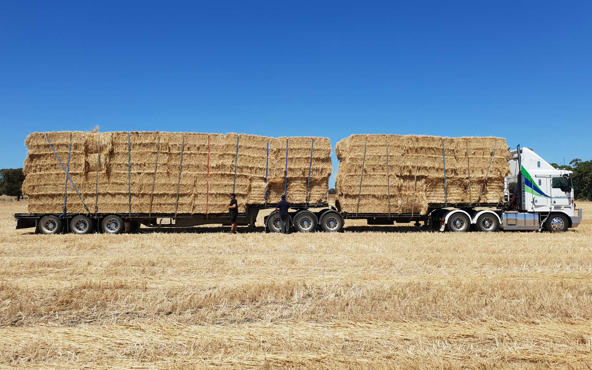 Hay Production, Hawkins Booroopki Farms
