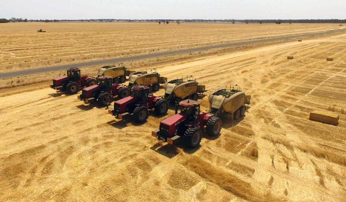 Hawkins Booroopki Farms - Farm Aerial